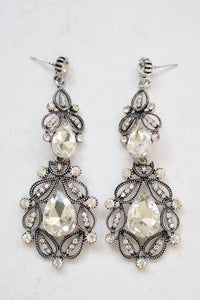 ALANNAH SILVER EARRINGS