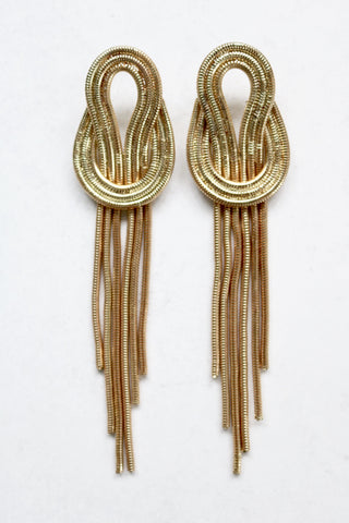 HAILEY GOLD DROP EARRINGS