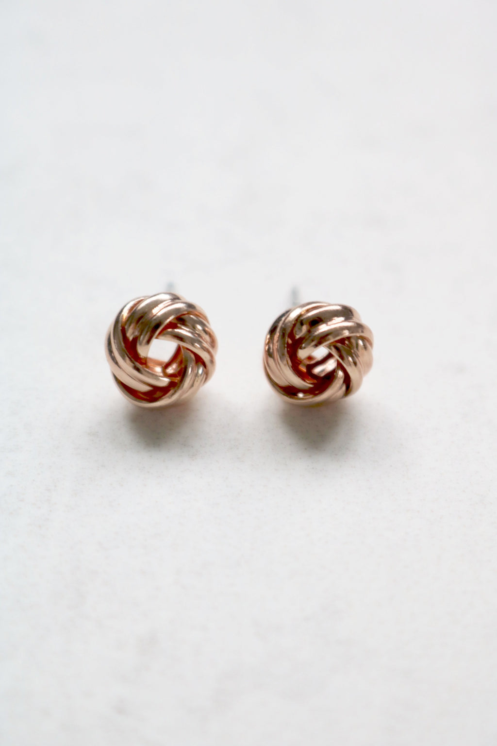HAILEY ROSE GOLD STUDS