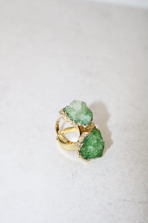 AURORA JADE QUARTZ RING