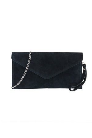 SADË BLACK CLUTCH BAG