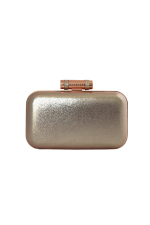 VICTORIA ROSE GOLD CLUTCH