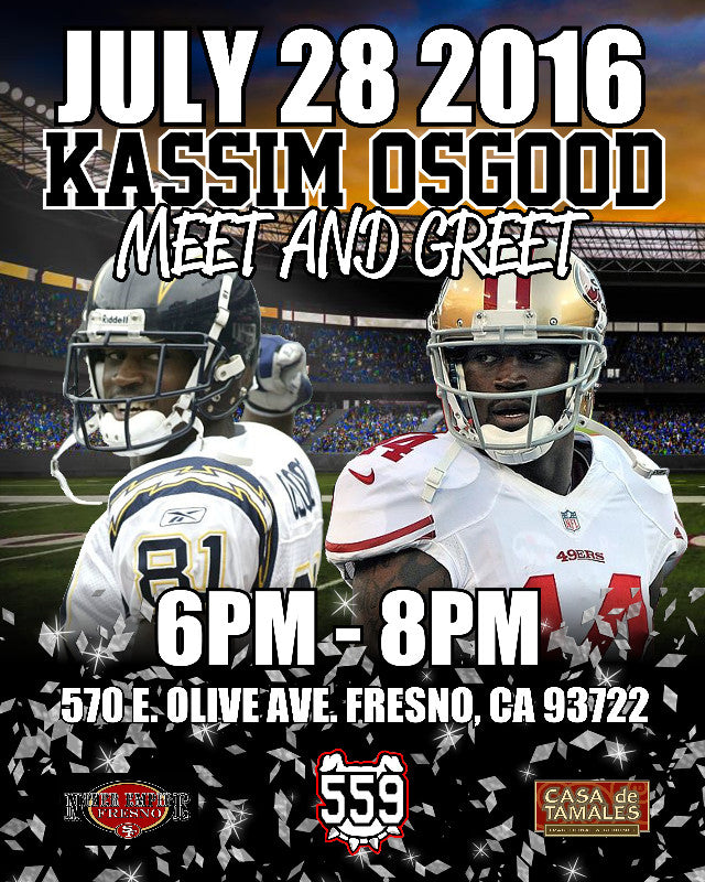 Kassim Osgood Meet and Greet