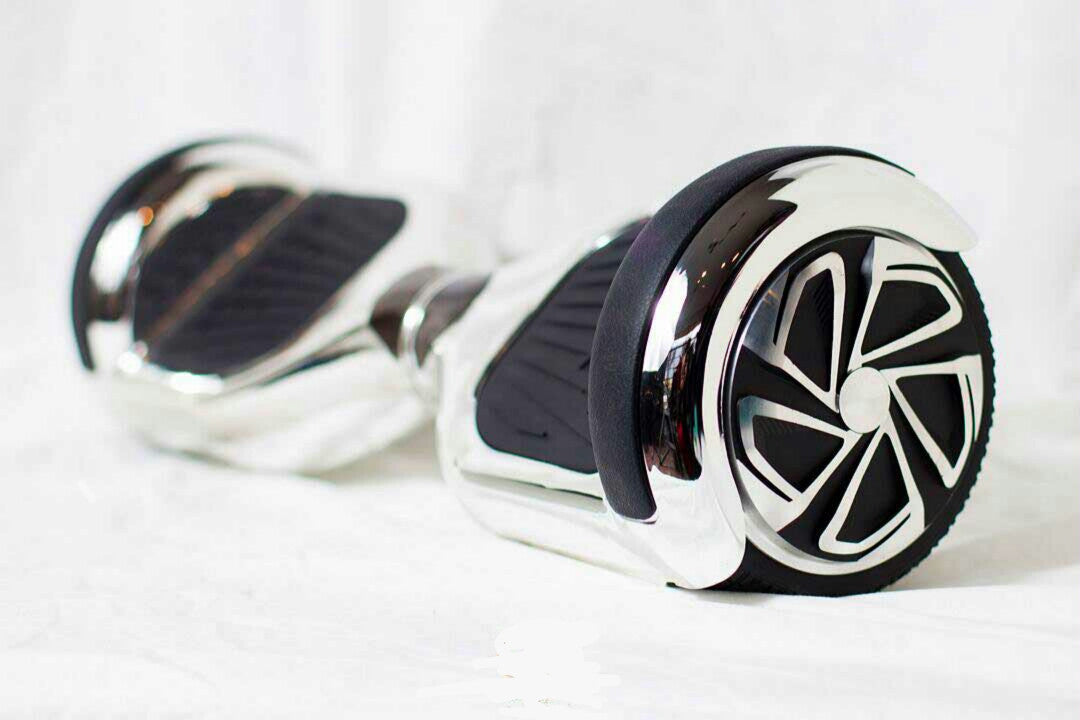 6.5 inch Chrome Self Balance Board w/ Bluetooth