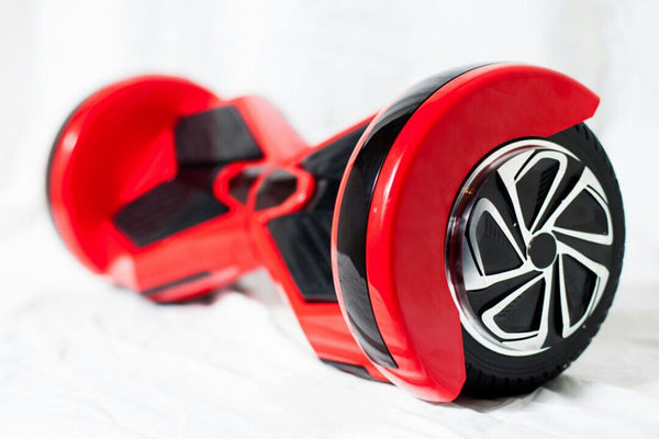 8 inch Red Lambo Self Balance Board w Bluetooth