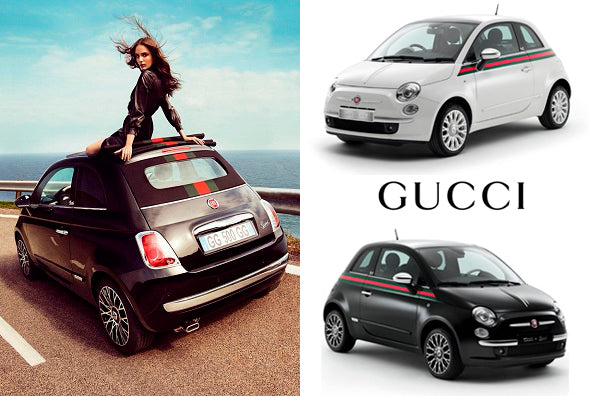 Nothing is more Gucci than the official Gucci 500 fiat...