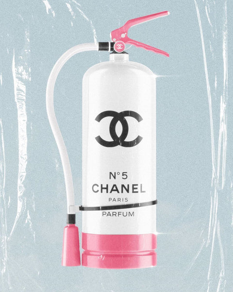 Chanel Extinguisher by Benkograph Art