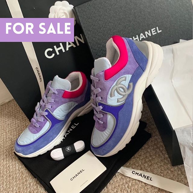 chanel sneakers on sale