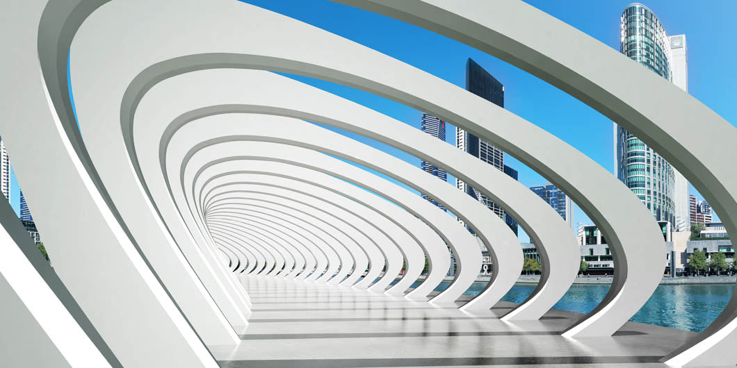 Architectural walkway