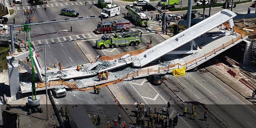 forensic investigation and expert witness services for the FIU Bridge collapse in Miami, FL