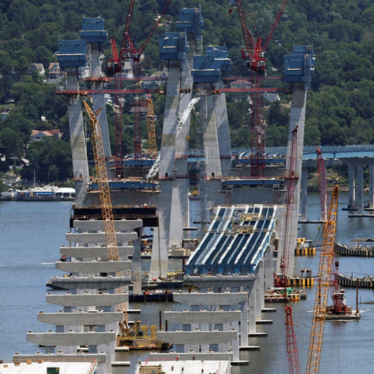 construction of the Tappan Zee Bridge