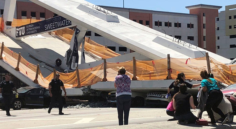 "FIU Bridge: ""Cracked Like Hell"" Five Days Prior To The Collapse"