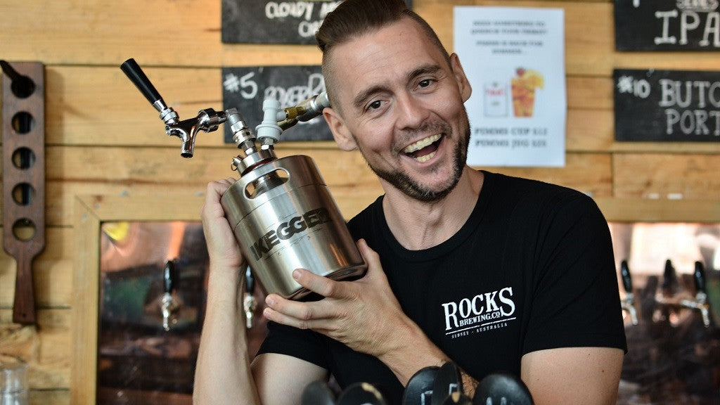 The Rocks Brewery | Alexandria | Beer, Food, iKegger Growler Refills