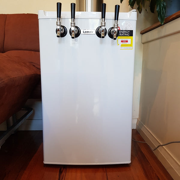 How To Build A 4 Tap Mini Kegerator Yourself In One Hour