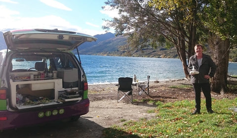 Our Jucy Cabana in NZ South Island