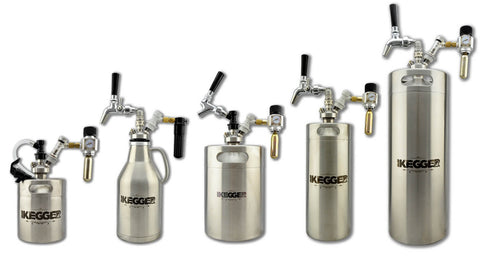 range of mini kegs for replacing tap king