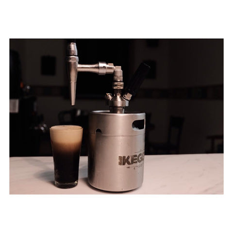 cream charger nitro coffee keg