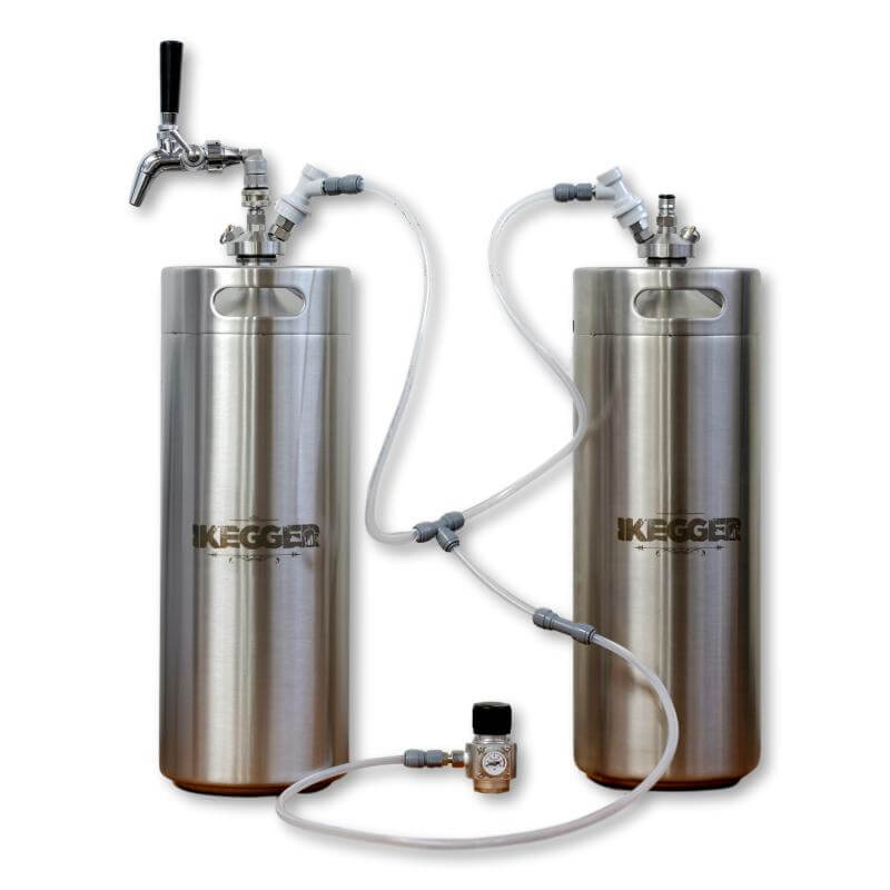 Complete 20L Mini Keg Package | 2 x 10L Kegs, Regulator Kit and Tap