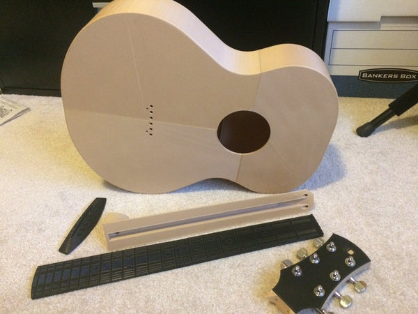 3D printed eletric guitar