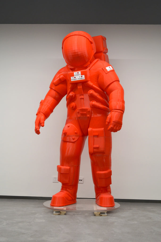 3D printed astronaut