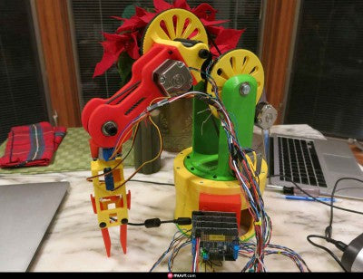 3d printed articulating arm