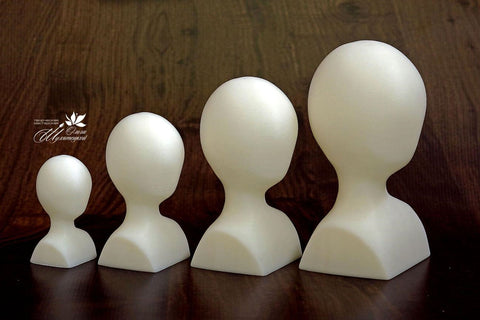 3D printed doll faces