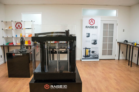 Raise3D showroom california