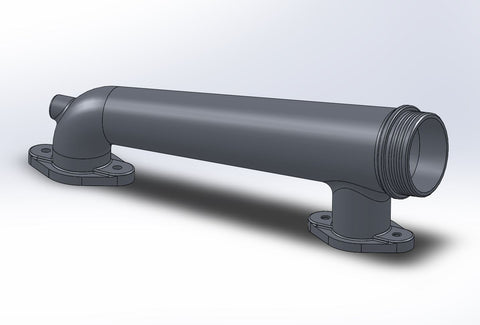 Solidworks model replicated with gathered measurements