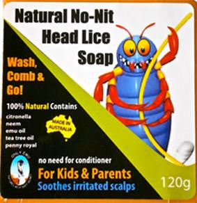 No-Nits Anti-Headlice Soap 120g