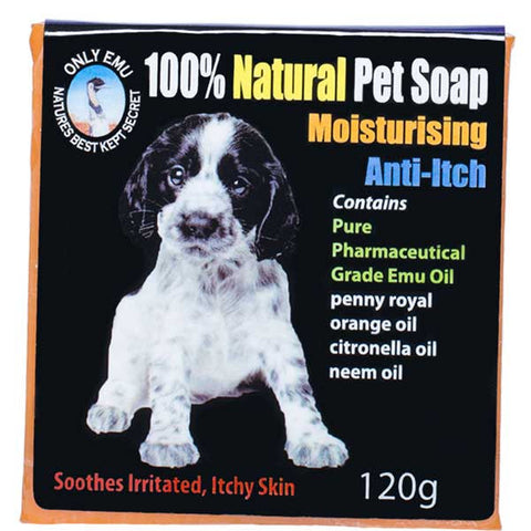Only Emu 100% Natural Moisturising Pet Soap 120 g