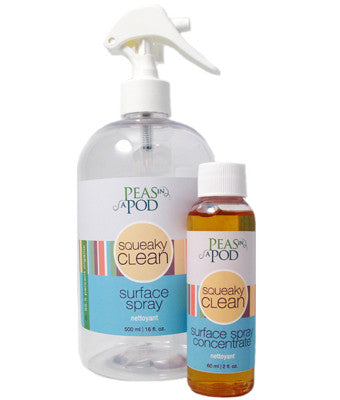 Squeaky Clean surface spray - Duo Pack