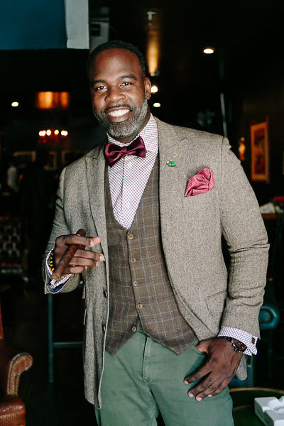 "Civil Rights Attorney Charles F. Coleman, Jr. named Harvest Male ""SWAG Man of The Year."""