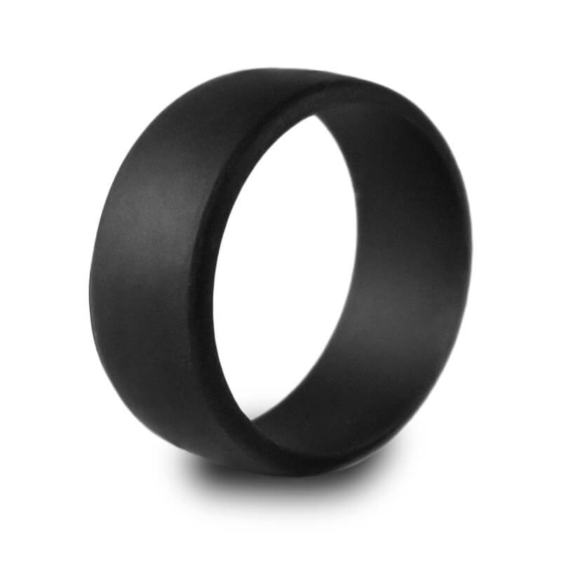 Silicone Wedding Ring for Men by Harvest Male for Active Lifestyles, Sports, Outdoors & Workmen (Hypoallergenic) in Gift Box