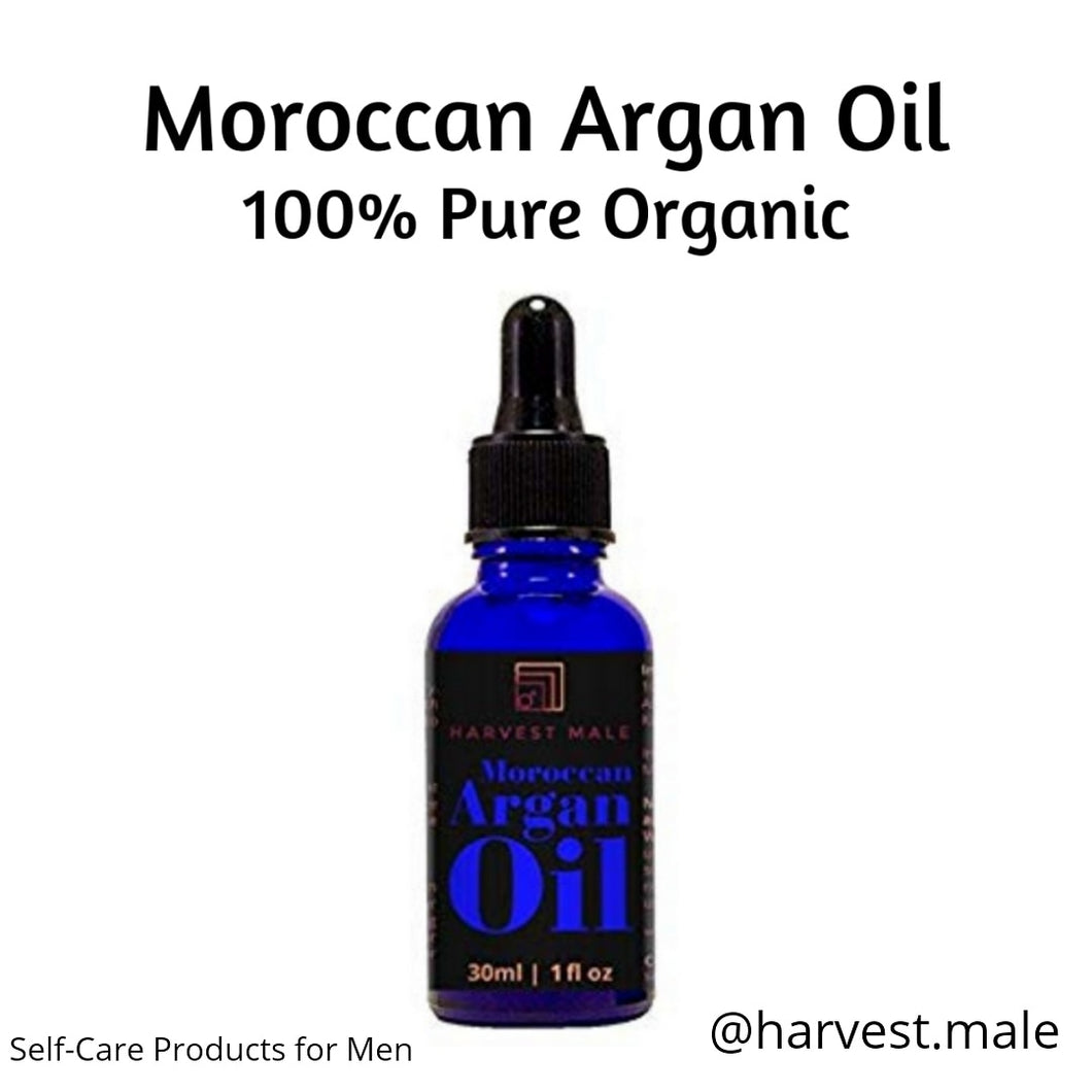Harvest Male 100% Pure Organic Moroccan Argan Oil - 4 oz