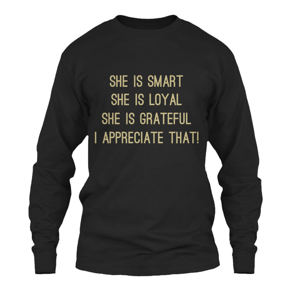Expressions of You Long Sleeve T Shirt - M