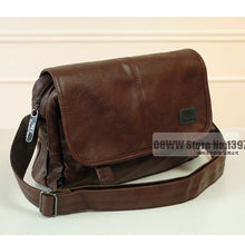 Load image into Gallery viewer, Bags - Men's Leather Crossbody Messenger Bag