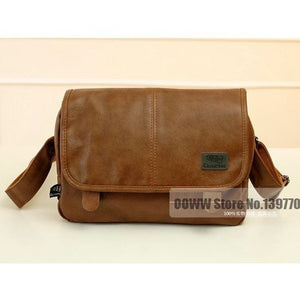 Bags - Men's Leather Crossbody Messenger Bag