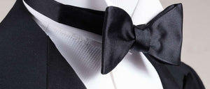 Harvest Male 100% Silk Jacquard Woven Self-Tie Bow Tie