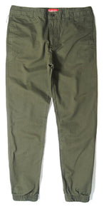 Men's Solid Cotton Jogger Pants