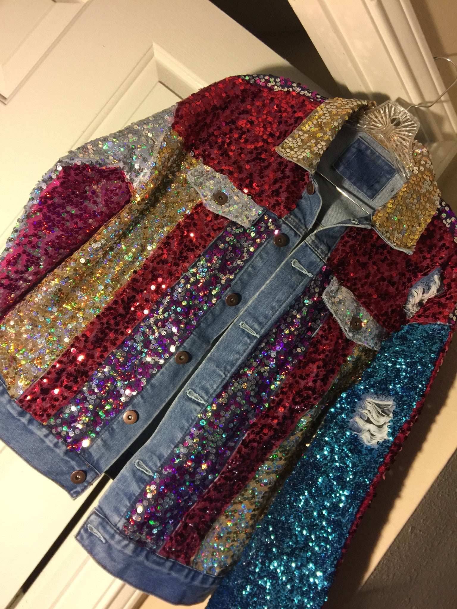 Sequin Jacket Puhlease