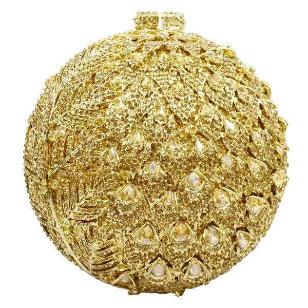 Crystal Ball Evening Clutch Bag