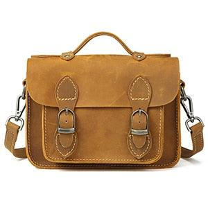 Leather luxury coffee designer Cross body Bags