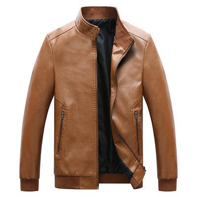 Men's Faux Leather Motorcycle Jackets