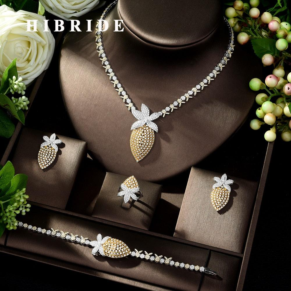 Classic Necklace Earring Jewelry Set