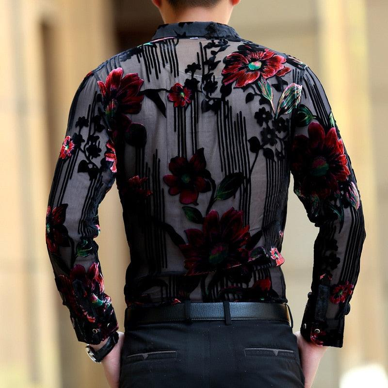 Luxury Men's Transparent Shirt
