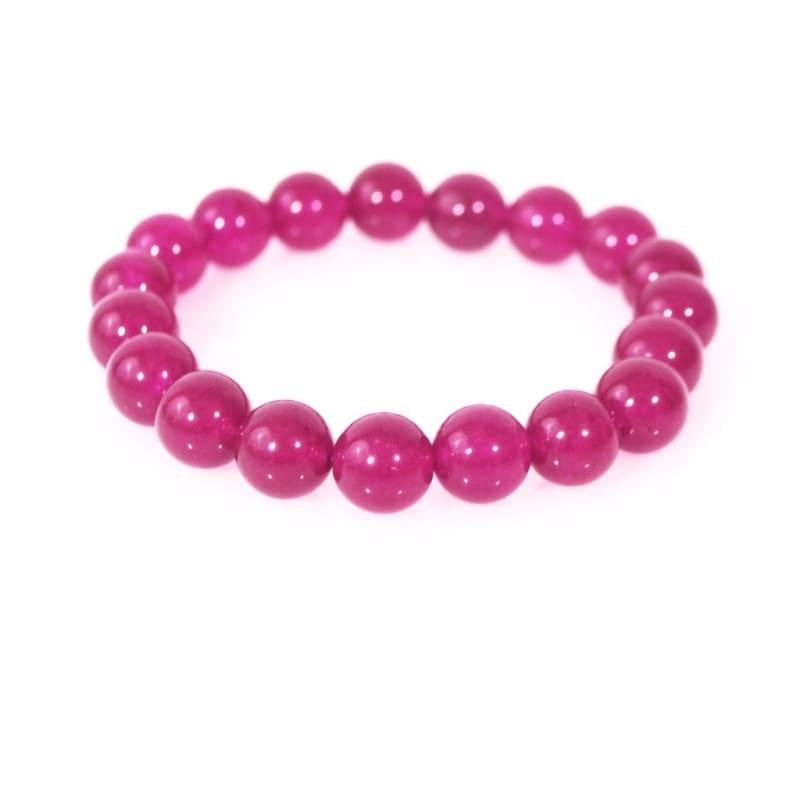 Berry Carnielan Agate Stretch Bracelets - TeresaCollections