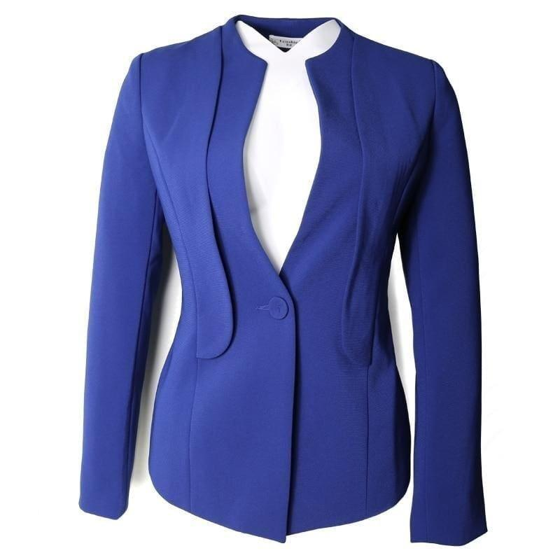 Blazer Jacket Office Lady Coat Business Formal Blazer - jackets