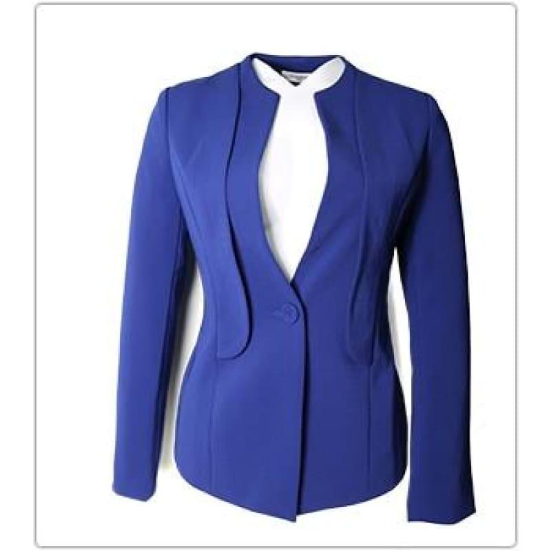Blazer Jacket Office Lady Coat Business Formal Blazer - TeresaCollections