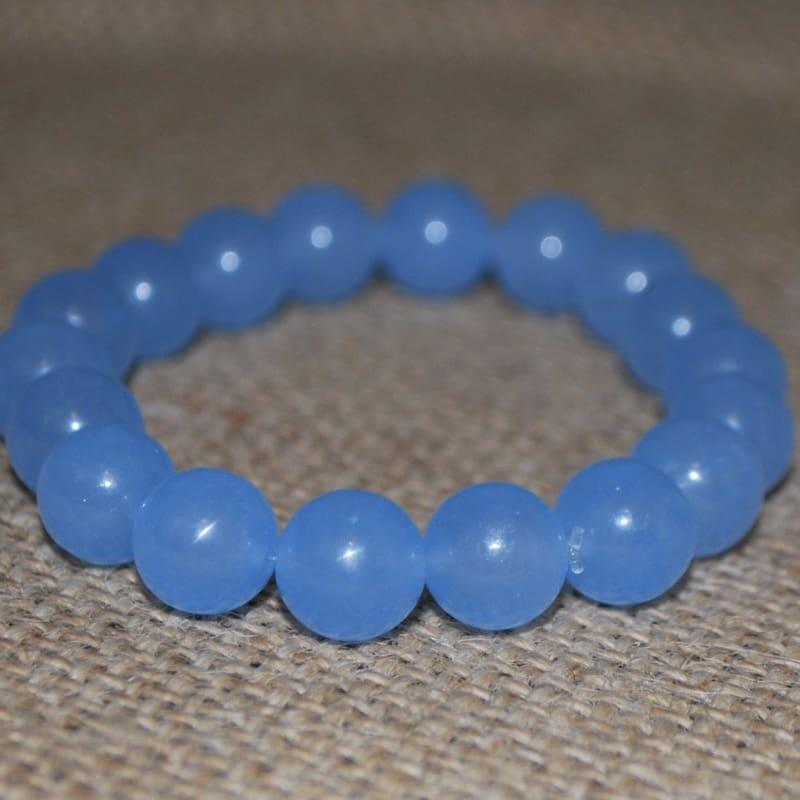 Brazilian Aquamarine Gemstone Men's Bracelets - TeresaCollections