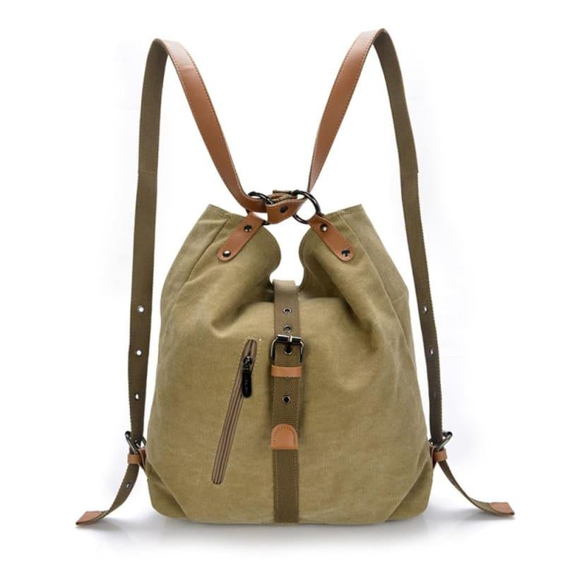 Canvas Retro Vintage Messenger Bag - TeresaCollections